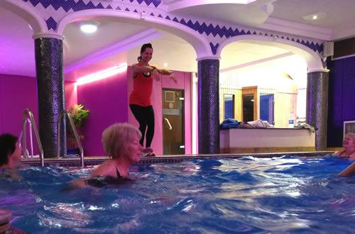 Poolside Fun Aquafit Classes
